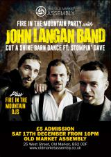 Fire in the Mountain Party - BRISTOL - The Langan Band + Cut A Shine + Stompin' Dave