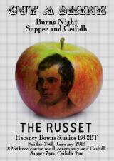 A Burn's Night Supper and Ceilidh at The Russet, Hackney
