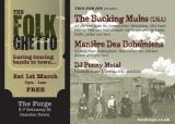 The Bucking Mules + Manieres Des Bohemiens @ The Forge