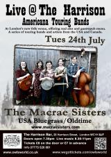 The Macrae Sisters @ The Harrison Bar
