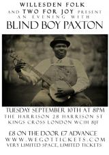 The Magpie's West - Blind Boy Paxton