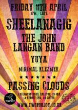 Sheelanagig + The John Langan Band + Yuya + Minimal Klezmer