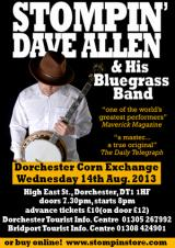 Stompin' Dave and his Bluegrass Band Summer Dates