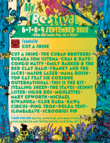 Bestival Line Up with Cut A Shine